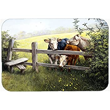 """high-quality Caroline's Treasures PTW2003JCMT Sunflower Country Paradise Barn Kitchen or Bath Mat, 24 by 36"""", Multicolor"""