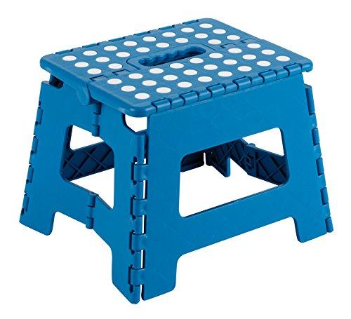 Arregui TB-021-A Taburete Plegable de 21 cm de altura, azul, 210X250X200