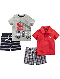Boys' 4-Piece Playwear Set