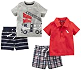 Simple Joys by Carter's Boys' 4-Piece Playwear Set