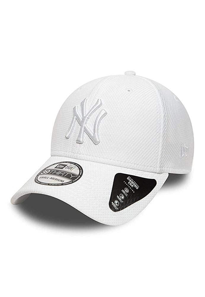 A NEW ERA Era NY Yankees Diamond Gorra, Unisex Adulto, Blanco ...