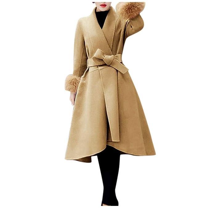 Giacca Donna Elegante,feiXIANG Cappotto Cappotti Donna con