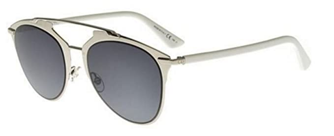 6ef0c594726 Image Unavailable. Image not available for. Colour  Christian Dior REFLECTED  P Pixel S6I RU Dark Ruthenium Green Women s Sunglasses