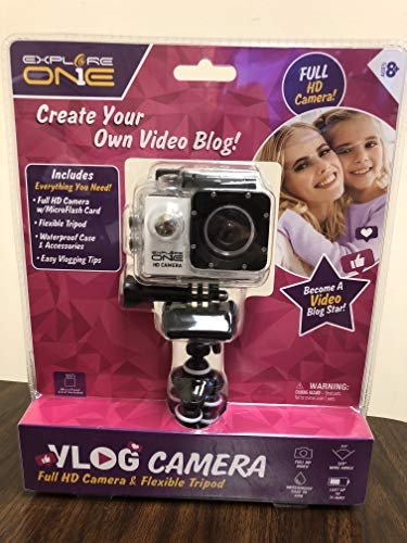 Explore One White Vlogger Camera
