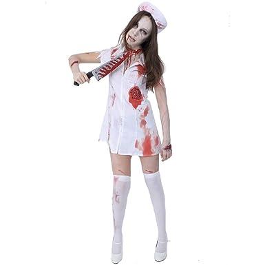 da210536d2244 Amazon.com: Zombie Collection - Zombie Nurse Costume - Adult XS/Small:  Clothing