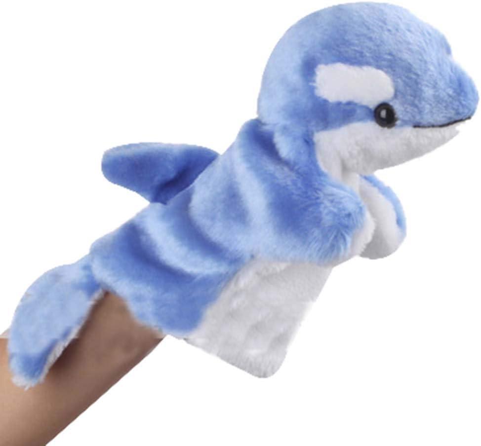 Black Temptation [Delfín] Juguete de la marioneta de Mano del Animal Encantador de la Mano de Marionetas Kid