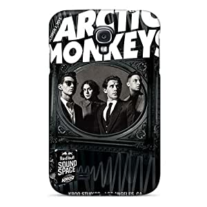 DannyLCHEUNG Samsung Galaxy S4 Anti-Scratch Hard Cell-phone Cases Support Personal Customs High Resolution Arctic Monkeys Band Skin [bpa10843ULbE]