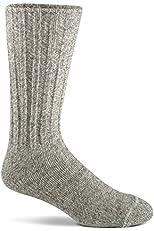 Norwegian Mid-Calf Wool Boot Socks