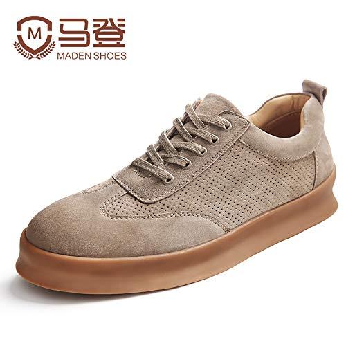 EAOJRSCSA Freizeitschuhe Herrenschuhe Herbst und Winter Schuhe Wild Herren Trend Wild Schuhe Herrenschuhe Schuhe Flut Schuhe, 40, Sand af4e64