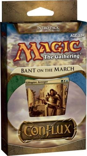 Magic the Gathering: Conflux - Theme Deck - Intro Pack - Bant on the March
