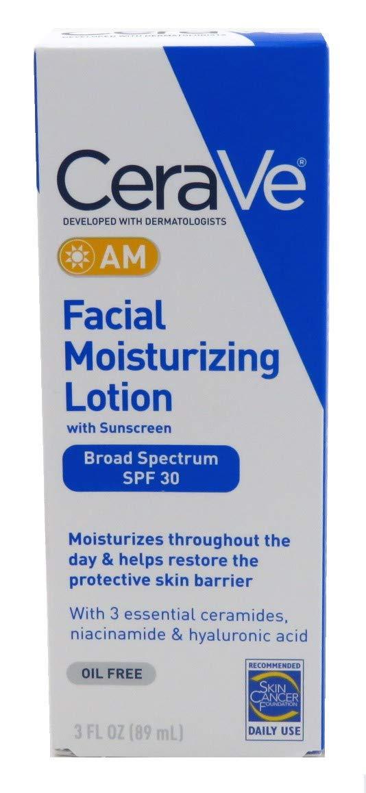 Cerave Facial Moisturizing Lotion Am Spf#30 3 Ounce (89ml) (2 Pack)
