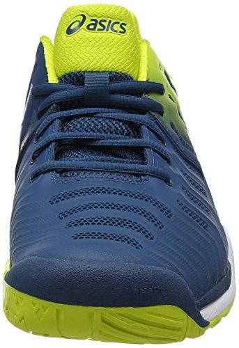Asics Gel-Resolution 7, Scarpe da Tennis Uomo Blu (Ink Blue/Sulphur Spring /White)