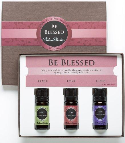 Будьте благословенны эфирного масла регулировочные 100% Pure Ароматерапия терапевтической степени чистоты Масла 3/10 мл мира. Надежда, Любовь