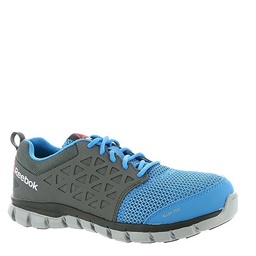 Reebok Work Men's Sublite Cushion Work SD Blue/Grey 13 EEEE US 4E – Extra Wide
