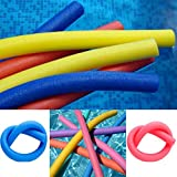 LIVIVO Fineway Set of 2 Swimming Pool Noodle Float Aid Woggle Logs Noodles Water Flexible Wet Swim- Strong and Flexible