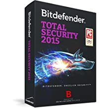 Bitdefender Total Security 2015 Up to 3 PC 2 Years