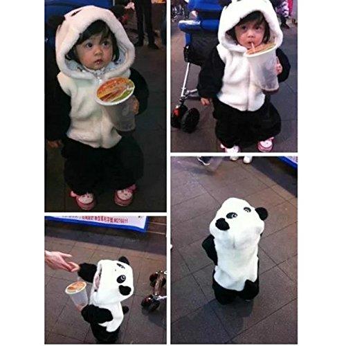 ef130c19f6b Amazon.com  Baby Cute Sleeping Bag Sack Romper Fleece Panda Sleepwear  Swaddle Unisex Bodysuit  Clothing