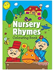 Martello Squiggle - A4 Nursery Rhymes Childrens Colouring Book