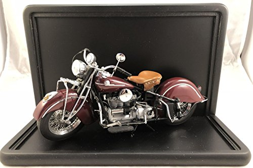 Franklin Mint Motorcycles (Franklin Mint 1942 Indian Motorcycle 442 Replica and Display Box Excellent Cond)