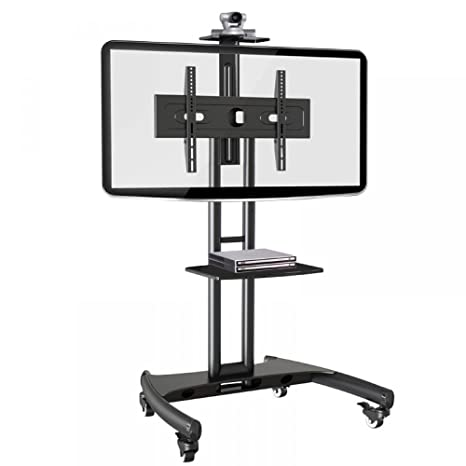 Tono Systems OFS 55 Video Conferencing TV Stand Cart with Caster Wheels at amazon