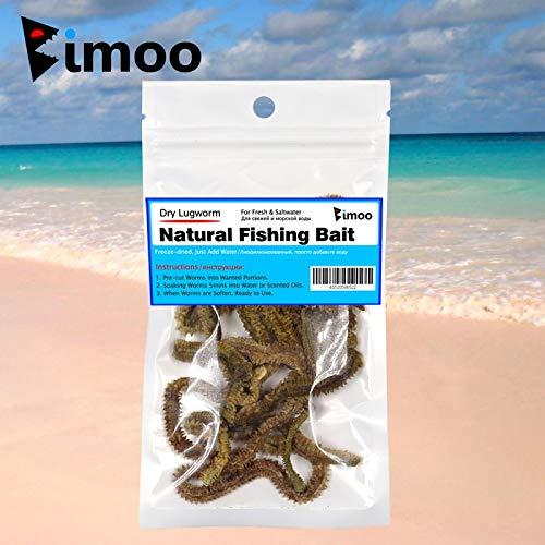 Fishing Lures - 1 Bag Dried Lugworm/Sand Worm Bait Fishing Lure Bream Flathead Cod Bass Saltwater Sandworm