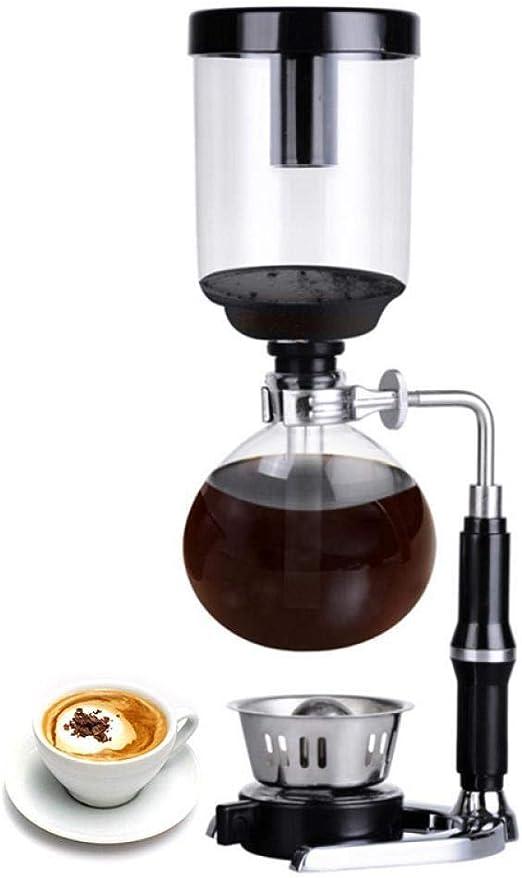 Hokaime Sifón de café Sifón de sobremesa (Sifón) Cafetera ...