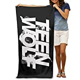 MASTER Teen Wolf Comedy Horror Beach Towel For Adults / 31.5'' * 51.2''