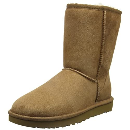 UGG Women's Classic Short II Boot - 51UJCHvN0OL. SS500 - Getting Down Under Shoes