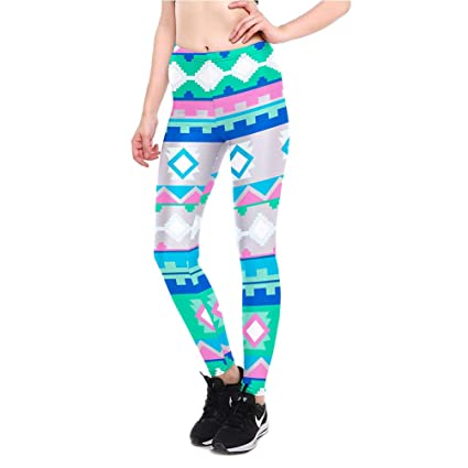 Amazon.com: Green Aztec Printed S Breathable Fast Dry ...