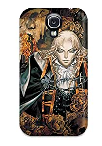 New Castlevania Tpu Case Cover, Anti-scratch QBTZJzo3662ytgOl Phone Case For Galaxy S4