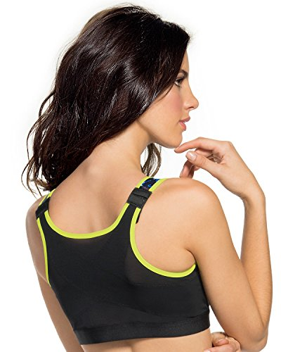 Leonisa Womens Posture Corrector Wireless Back Support Bra