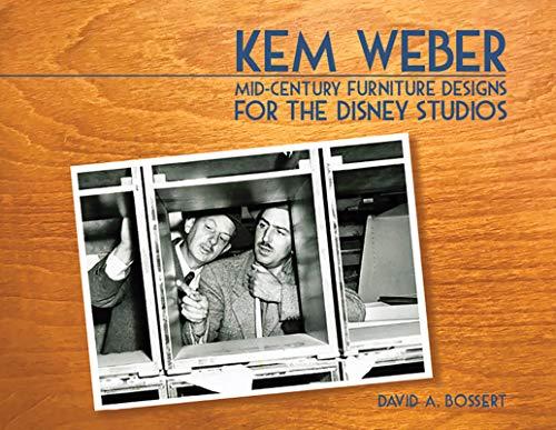 Kem Weber: Mid-Century Furniture Designs for the Disney Studios