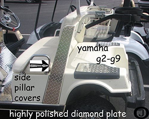 Yamaha G2/G9 Golf Cart Diamond Plate SIDE PILLAR ()