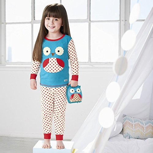 69dd11340 Amazon.com  Skip Hop Boys  Kids Zoojamas  Clothing