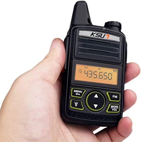 Amazon.com: Portable Radio Set KSUN X-30TFSI Mini Walkie Talkie UHF Handheld Two Way Ham Radio Communicator HF Transceiver Amateur Handy KSX30-ML: Car ...