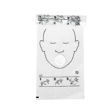 Mascarilla facial de CPR - tejido no tejido enrollado ...