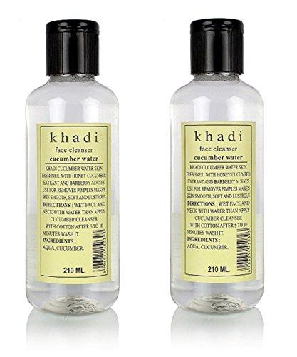 185 Toner - Khadi 2 Pack X Natural Cucumber Water, 210Ml (Pack Of 2)