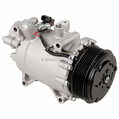 AC Compressor & A/C Clutch For Acura TSX 2.4L 4-Cyl 2009 2010 2011 2012 2013 2014 - BuyAutoParts 60-02992NA New
