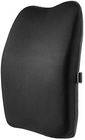 [スポンサー プロダクト]IKSTAR クッション 低反発 ランバーサポート オフィス 椅子 車用 腰枕 RoHS安全基準クリア 取付バンド調節可能 洗える 介護用クッション