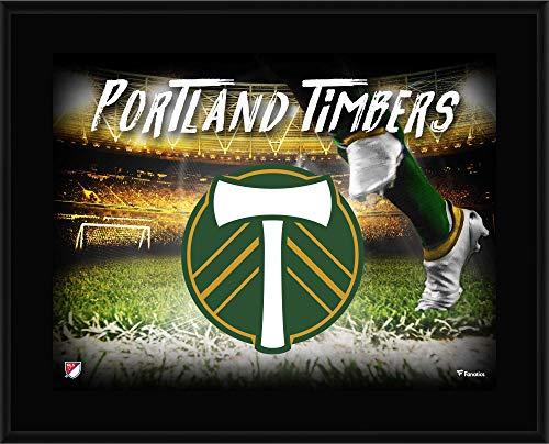 "Fanatics Authentic MLS Portland Timbers Portland Timbers 10.5"" x 13"" Sublimated Horizontal Team Logo Plaque"