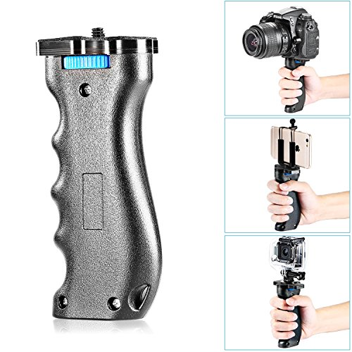 Neewer Camera Handle Grip Handheld Stabilizer with 1/4' Screw for DSLR Camera Such As...