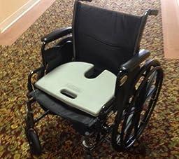 "RelaxoBak Back Support and Tailbone Orthopedic Seat Cushion – Car Seat Wedge - 3 Year ""Won't Go Flat"" Warranty"