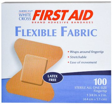 Adhesive Bandages Flexible Small Fingertip 1 3/4