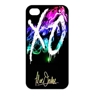 iPhone 6 plus 5.5 Case, XO The Weeknd Hard TPU Rubber Snap-on Case for iPhone 6 plus 5.5 / 6 plus 5.5S