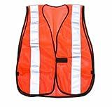: Stanley Orange Safety Vest with Reflective Strips (RST-60003)