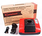 PowerSmart® Charger for Bosch Battery 2 607 335 675, 2 607 335 676, 2 607 335 678, 2 607 335 680, 2 607 335 684, 2 607 335 685, 2 607 335 686, 2 607 335 687, 2 607 335 688, 2 607 335 692, 2 607 335 694, 2 607 335 695, - Built-in dual USB ports