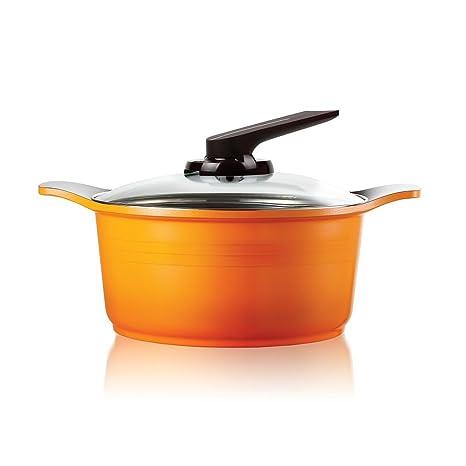 Darna Toscana 24cm Single pan - Cacerola (Single pan, Naranja, Cerámico, 4