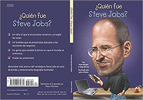 ¿Quién fue Steve Jobs? (Who Was?) (Spanish Edition)
