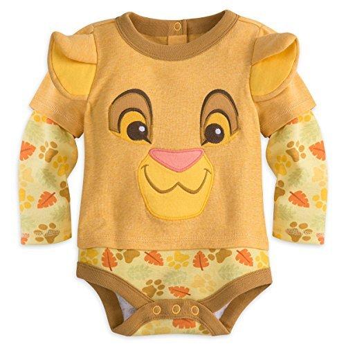 Disney Store Simba Baby Bodysuit (3-6) ()