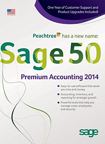 Sage 50 Premium Accounting 2014 US Edition (Office Small Business Premium)